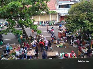 Pasar Wates, pasar tradisional, tips jualan online