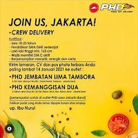 Lowongan Kerja PHD Jakarta Barat Terbaru Januari 2021