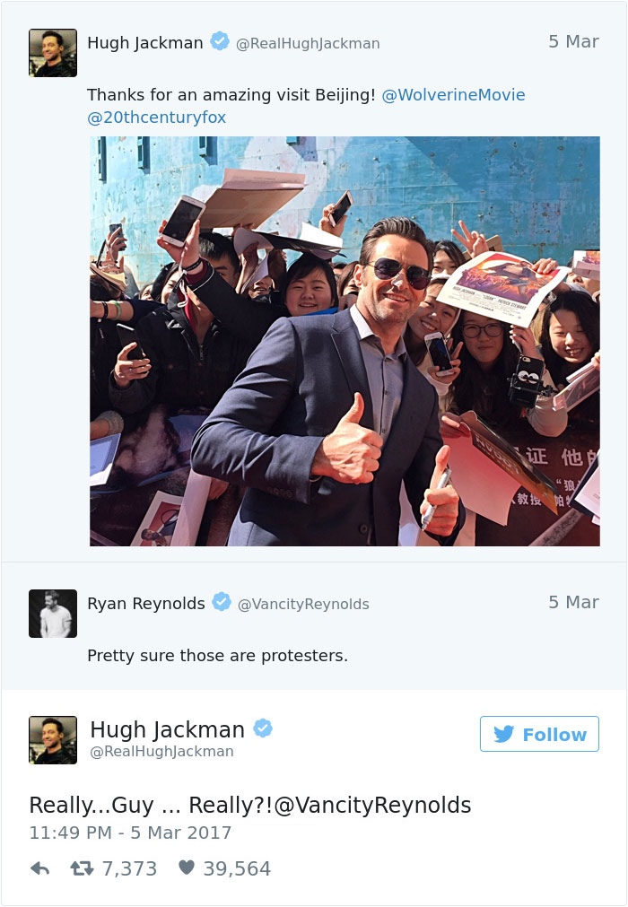 Hugh Jackman And Jake Gyllenhaal Played A Hilarious Prank On Ryan Reynolds