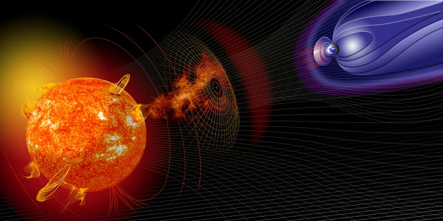 minor geomagnetic storm may hit earth on sunday