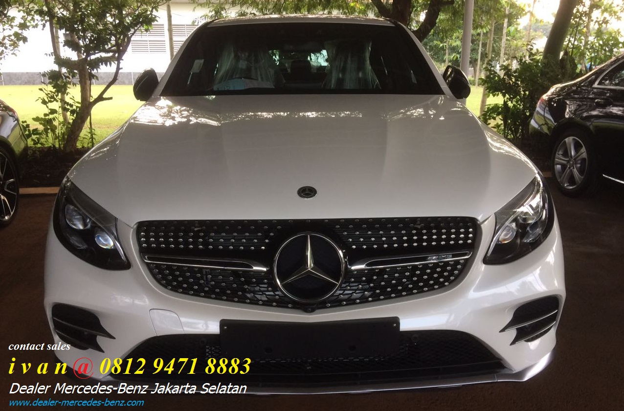 New mercedes benz glc gle 43 amg coupe 2018 indonesia for Dealer mercedes benz