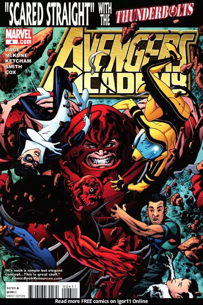Avengers Academy Issue #4   Episode 4   Igor11 Online