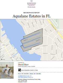 Aqualane Estates demographic report
