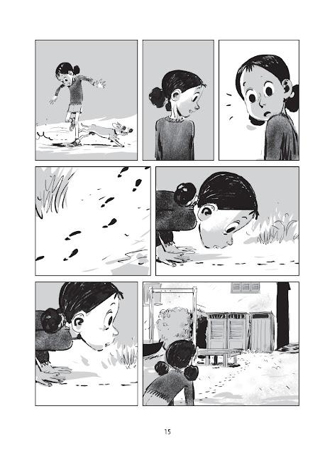 un été sans maman page 15 aux éditions Delcourt collection Shampooing