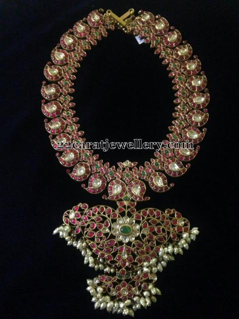 Rice Pearls Crafted Mango Mala