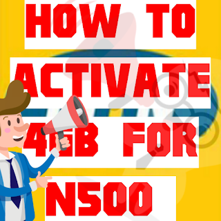 How to activate 4GB Data bundle For N500 On MTN