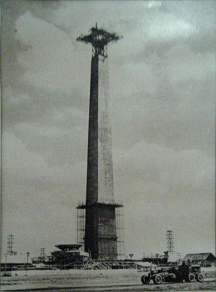 Monumen Nasional dalam tahap pembangunan