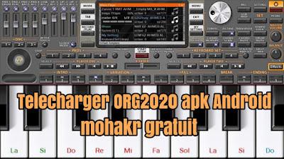 Telecharger ORG2020 apk Android mohakr gratuit