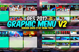 RT New Graphic Mods PES 2021 V2 For - PES 2017