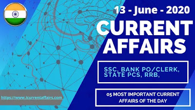 13th-June-2020-Current-Affairs