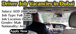 Light Manual Drivers (45 Nos.) Recruitment For Group Of Companies In Dubai And Sharjah Locations
