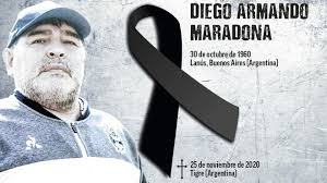Conmoción Mundial:murió Diego Armando Maradona