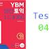 Listening YBM Practice TOEIC LC 1000 - Test 04