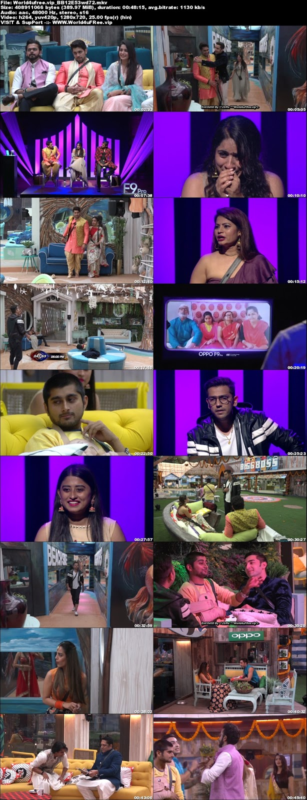 Bigg Boss 12 Episode 53 08 November 2018 720p WEBRip 400Mb x264 world4ufree.vip tv show Episode 53 08 november 2018 world4ufree.vip 300mb 250mb 300mb compressed small size free download or watch online at world4ufree.vip
