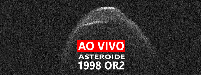 live asteroide 1998 or2