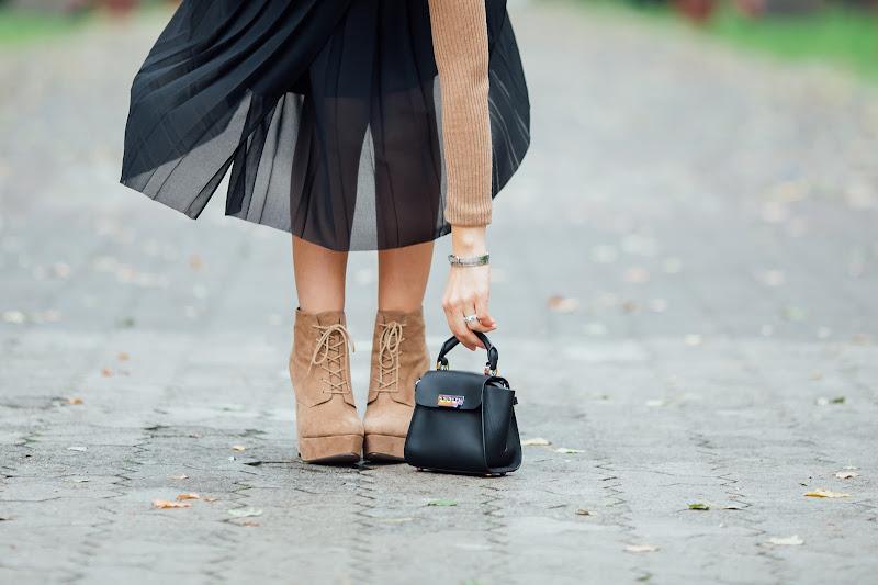 ботинки asos, сумка zac zac