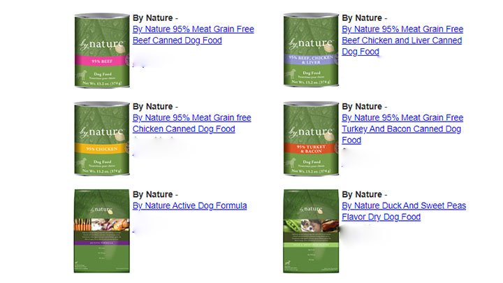 by nature dog food reviews