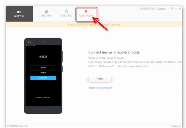 Ponsel Terdeteksi di Mi PC Suite Untuk Mengatasi Bootloop Xiaomi