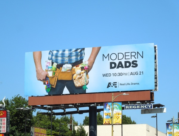 Modern Dads series premiere billboard