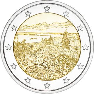 2€ kolikko koli 2018