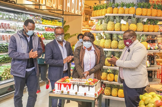 Naivas Supermarket opens a 64th branch at Airport view, Syokimau