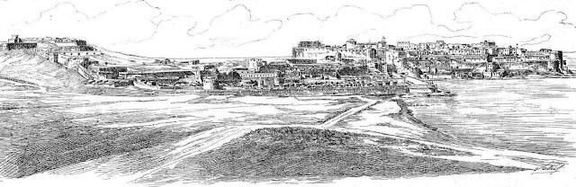 Panórámica de Melilla (La Ilustración Ibérica, 21/10/1893)