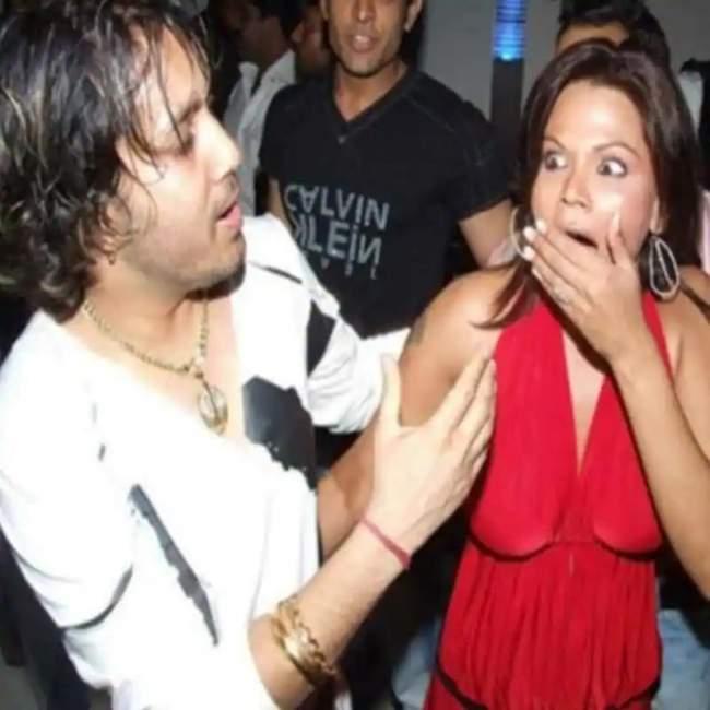 mika-singh-and-rakhi-sawant-kissing-pics