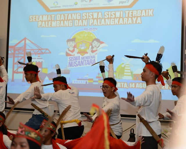 PT Pelabuhan Indonesia II, fasilitasi Kegiatan Siswa Mengenal Nusantara