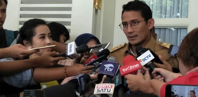 APBD DKI Jakarta Naik, Sandi Berharap Menteri Tjahjo Mau Tandatangan
