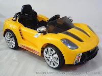Mobil Mainan Aki Junior CH9919 Porche 12V