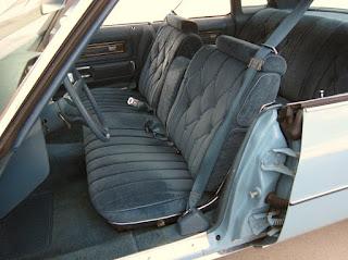 1975 Pontiac Grand Ville Seats