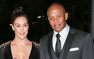 Nicole Threatt photo attached with her husband Dr. Dre
