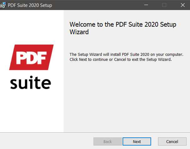 PDF Suite 2020 Professional + OCR 18.0.26.4880 poster box cover