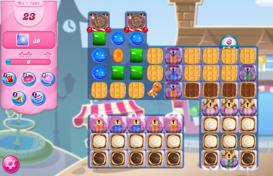 Candy Crush Saga level 7002