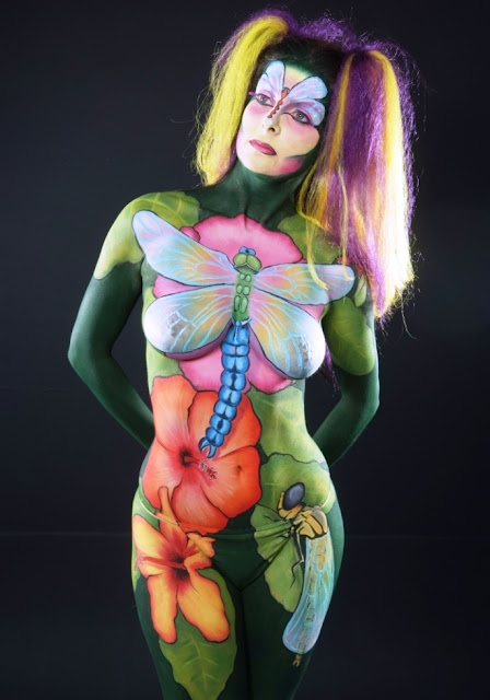 painted body