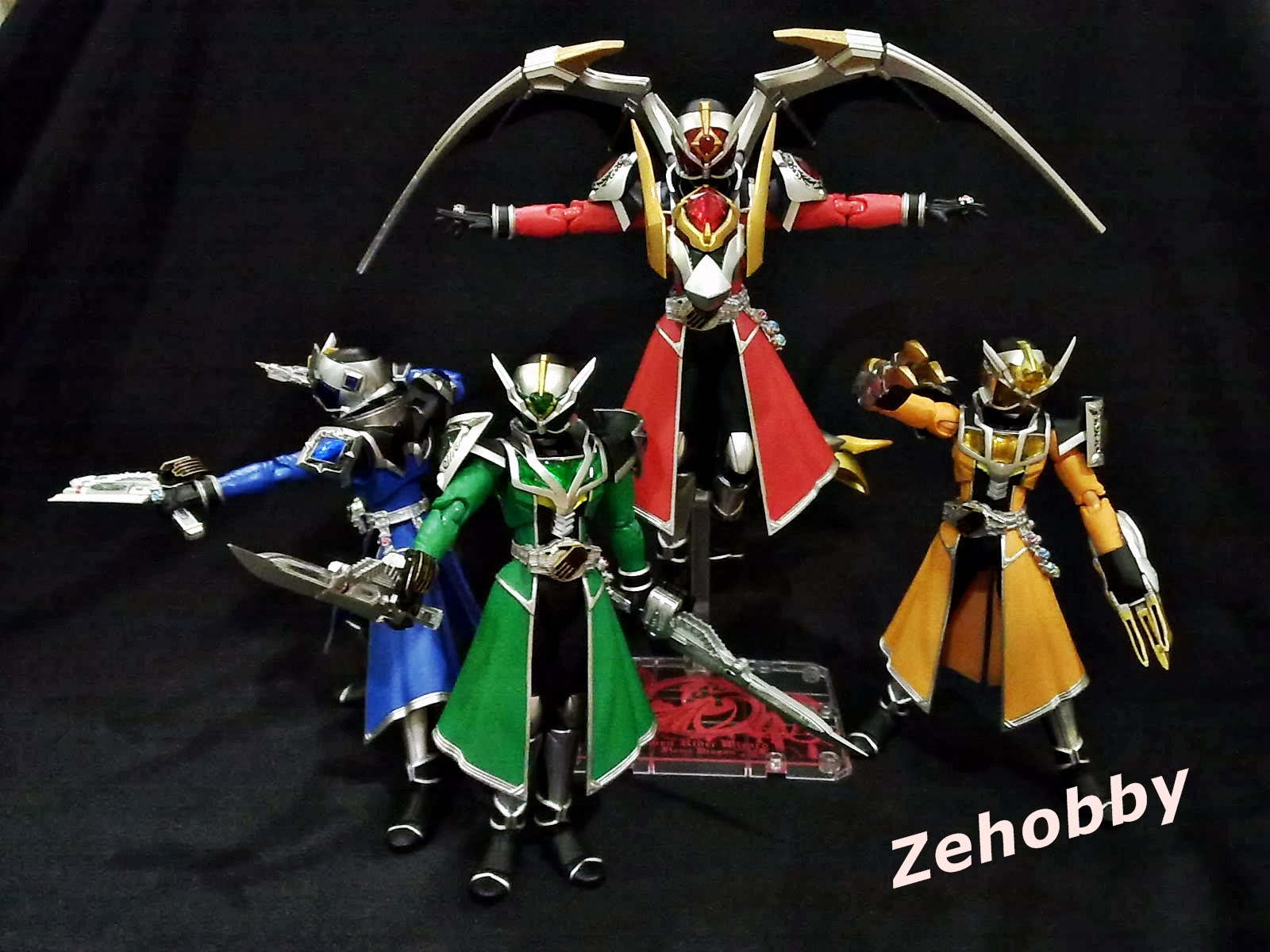 zehobby s h figuarts kamen rider wizard all dragon forms flame