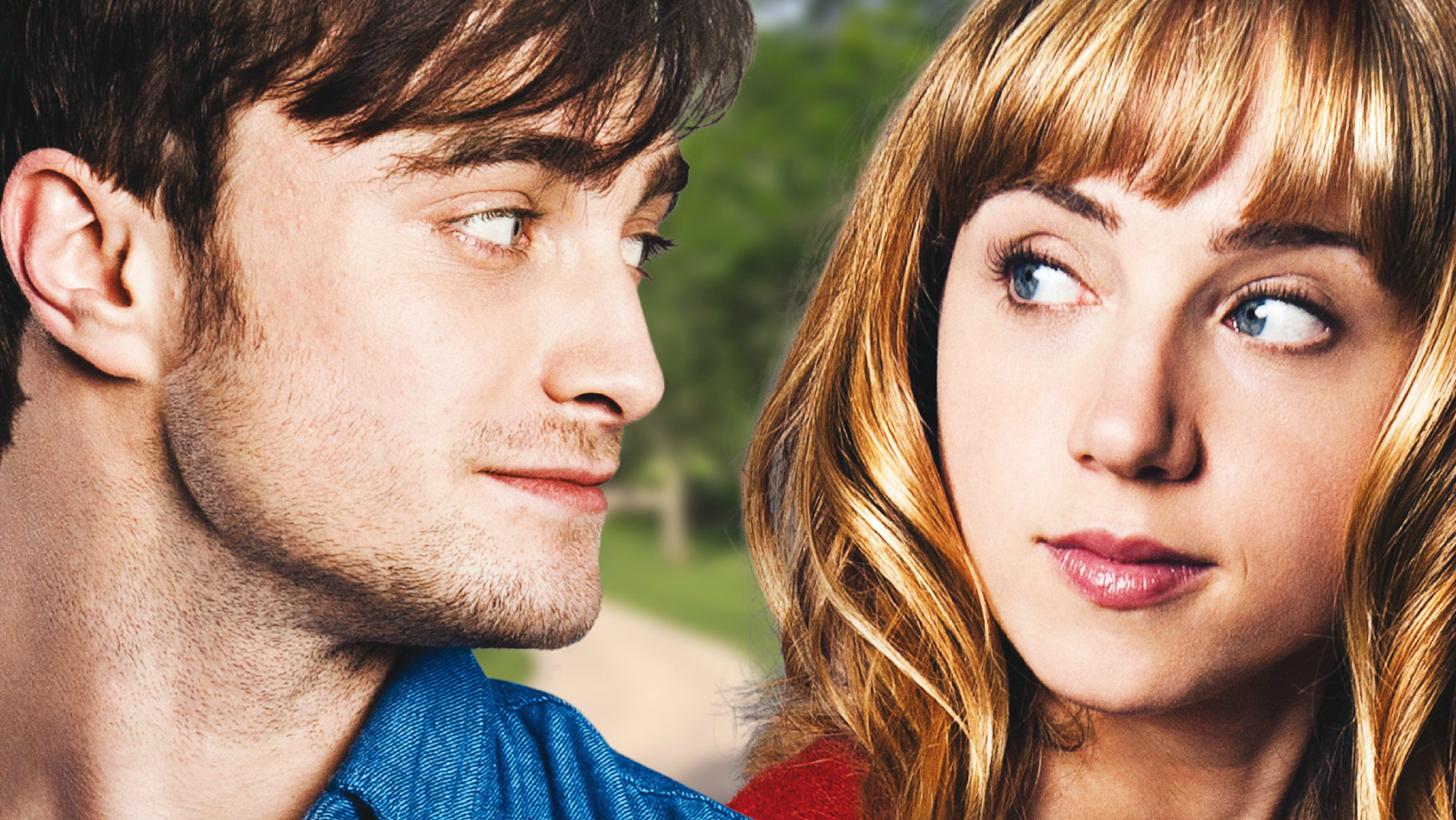 International movie poster for the 2013 film 'What If' starring Daniel Radcliffe and Zoe Kazan