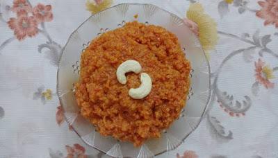 Carrot halwa recipe (Gajar ka halwa)