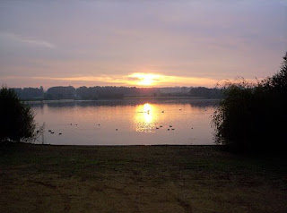 Sunrise over Pitsford Reservoir, Northampton