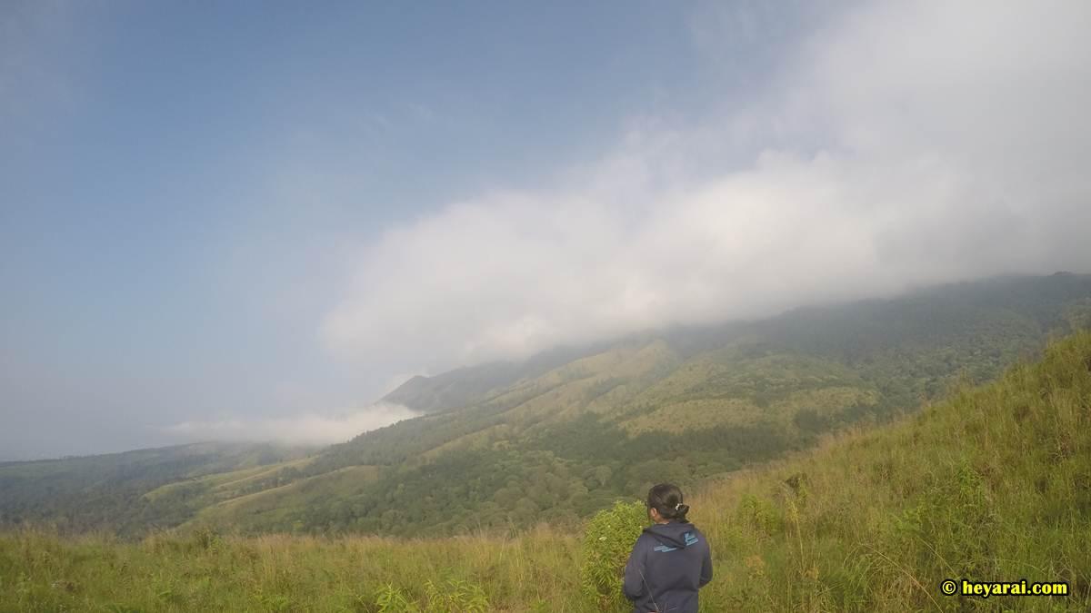 Putuk Lesung, lereng gunung Arjuno