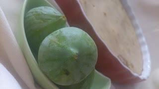 Flaugnarde de higos brevas verano summer receta sencilla horno Cuca postre