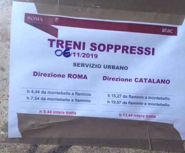 Il silenzio sulla Roma-Viterbo