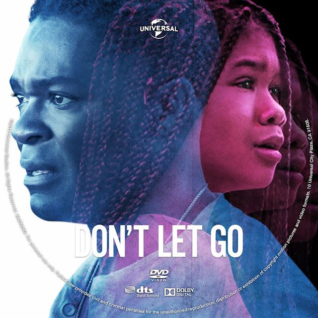 Don't Let Go DVD Label