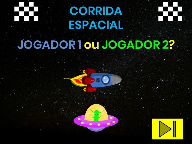 JOGO CORRIDA ESPACIAL - MEIO AMBIENTE