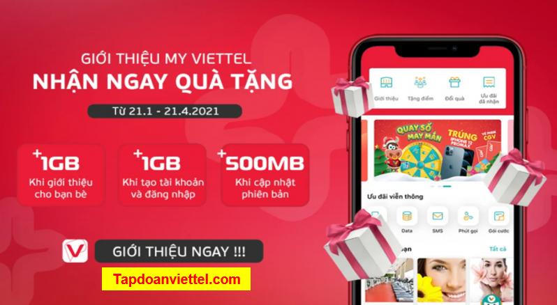 Cách nhận data miễn phí từ Viettel