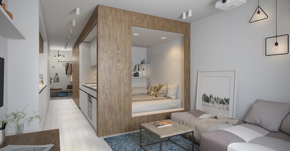 5 Cara Mudah Mengatur Desain Interior Apartemen Modern ...