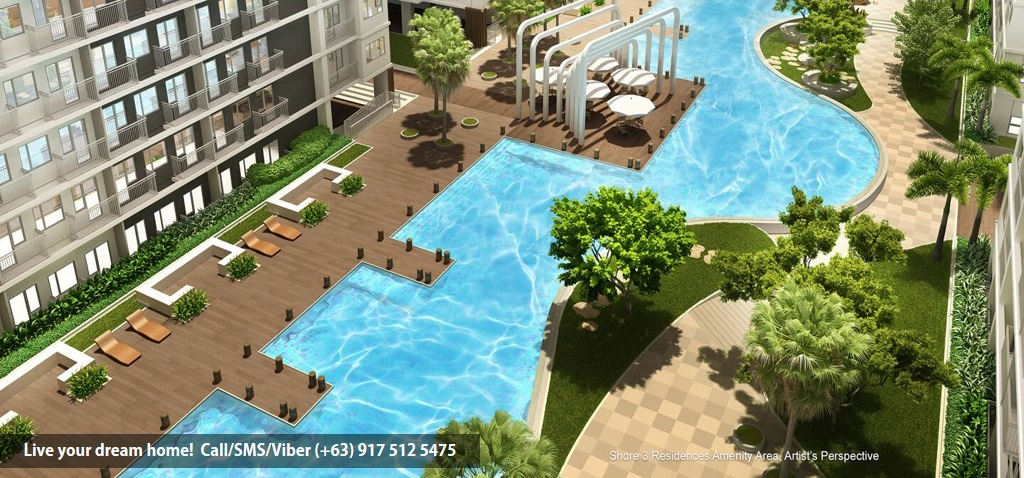SMDC Shore 3 Residences - Family Suite A With Balcony | Condominium for Sale SM Mall of Asia Pasay