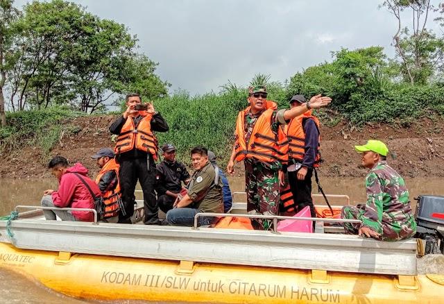 Ditangani Satgas Sektor 7, Baleendah Bandung Terbebas Dari Banjir Tahunan