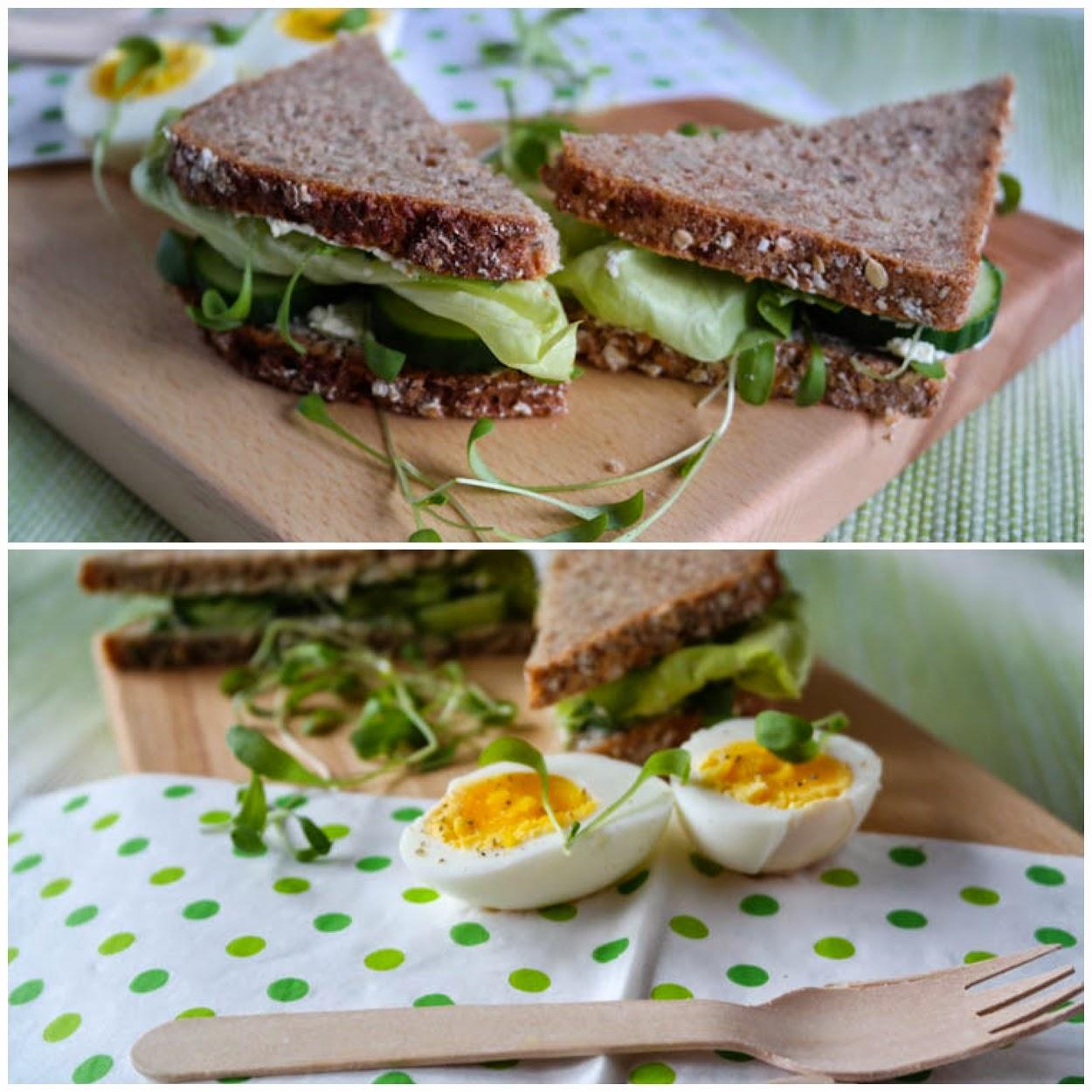 Gurken Sandwich