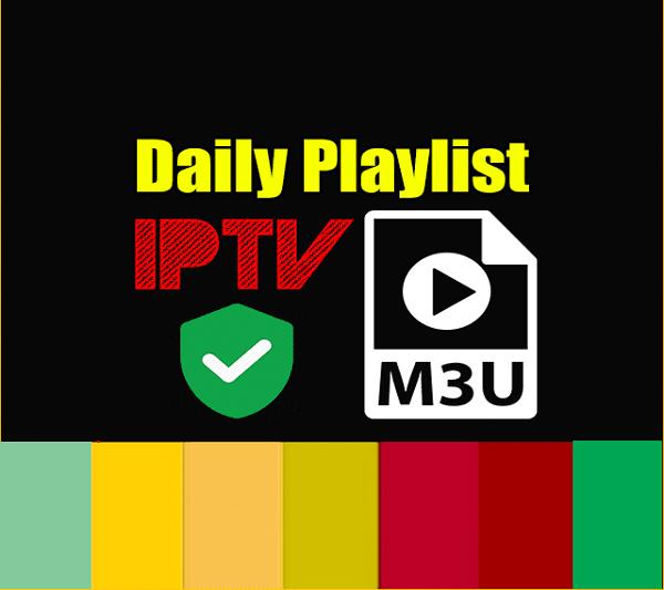 IPTV Daily Playlist M3u Links